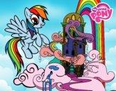 Rainbow Dash palácio