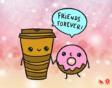 Café e filhós
