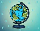 O globo terrestre