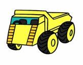 Um caminhão de carga