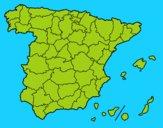 As províncias de Espanha