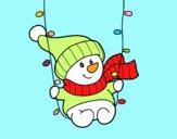 Baloiço do boneco de neve