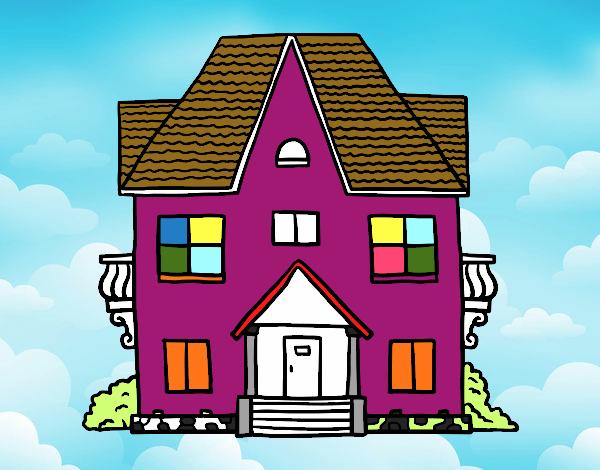 Casa com varandas