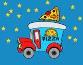 Food truck de pizza