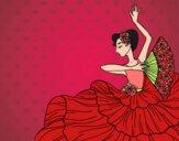 Mulher flamenco