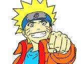 Naruto alegre