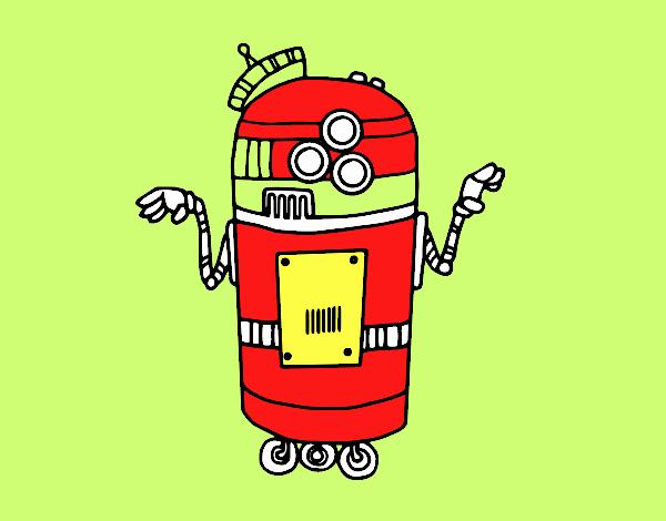 Robot en serviço