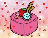 Bombom de fruta