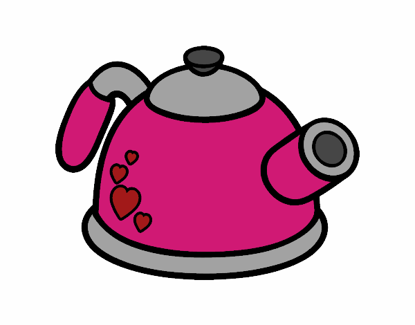 Bule De Chá Desenho