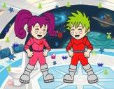 Crianças astronautas