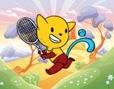 Gato tennis