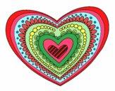 Mandala coração