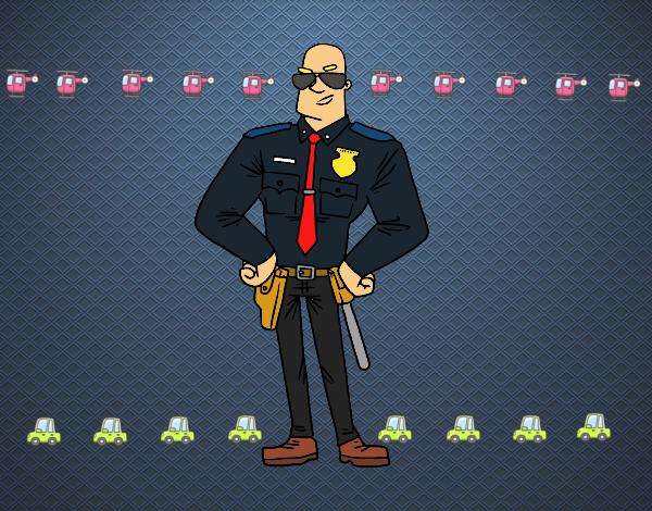 Policial durão