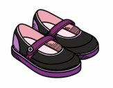 Sapatos da menina