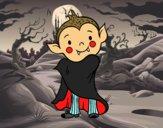 Vampiro do Halloween