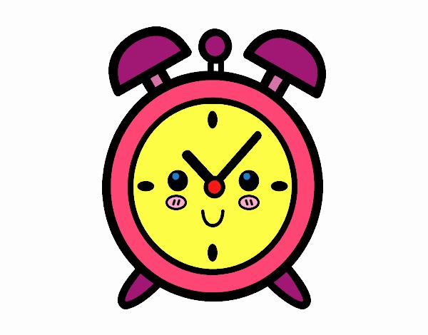 c2d3e095d1b Desenho de relógio despertador pintado e colorido por usuário não  registrado o dia de dezembro jpg