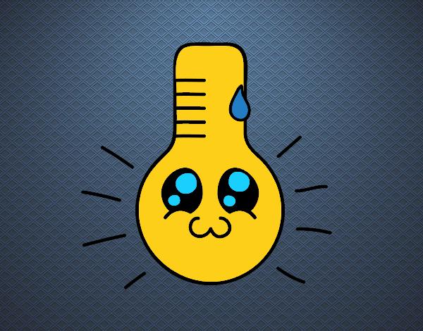 Desenho De Termometro Kawaii Pintado E Colorido Por Usuario Nao Registrado O Dia 29 De Setembro Do 2019 Trova una vasta selezione di termometro forno legna a prezzi vantaggiosi su ebay. galeria de desenhos colorir