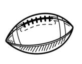 Dibujo de A bola de beisebol