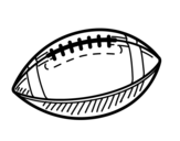Desenho de A bola de beisebol para colorear