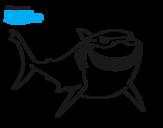 Dibujo de Personagens One Piece