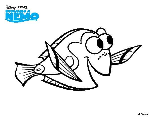 Desenho De À Procura De Nemo