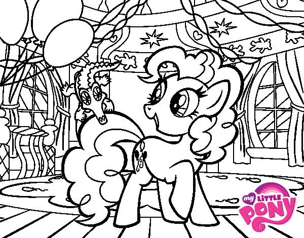 Desenho de anivers rio do pinkie pie para colorir - Pony da colorare in immagini ...