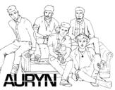 Desenho de Auryn Boyband para colorear