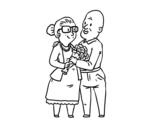 Dibujo de Avós amo
