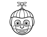 Desenho de Balloon Boy de Five Nights at Freddy's para colorear