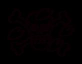 Desenho de Bandeira de Tony para colorear