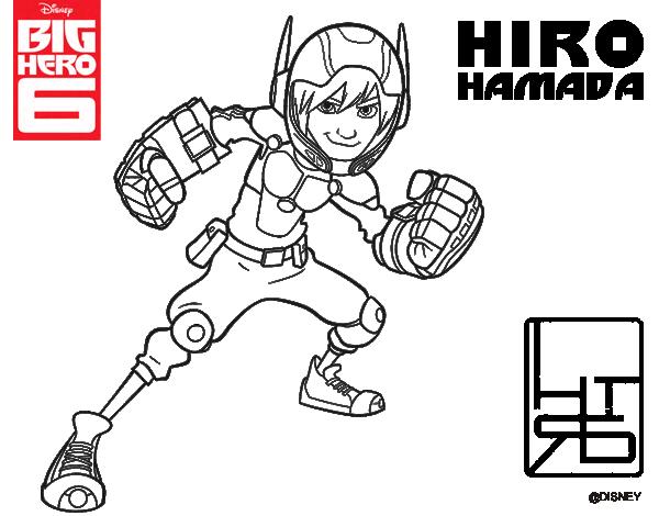 Desenho De Big Hero 6 Hiro Hamada Para Colorir Colorir Com