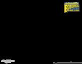 Desenho de Bob Esponja - A Invencibolha para o ataque para colorear