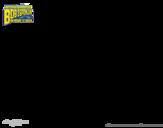 Desenho de Bob Esponja - Super Maneiríssimo e Invencibolha para colorear