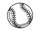 Dibujo de Bola beisebol