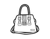 Dibujo de Bolsa com alças
