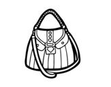 Desenho de Bolso bonito para colorear
