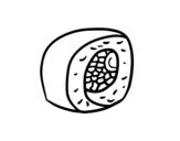 Desenho de California makiCalifornia maki para colorear