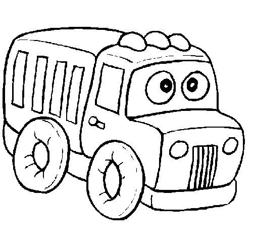 Desenho de Camião 1 para Colorir