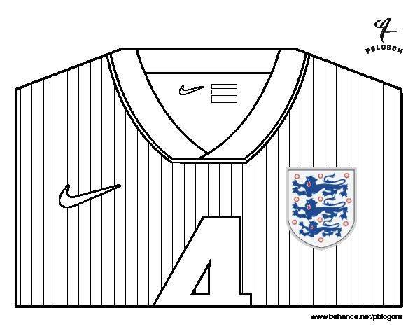 Desenho De Camisa: Desenho De Camisa Da Copa Do Mundo De Futebol 2014 Da