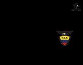 Desenho de Camisa da copa do mundo de futebol 2014 do Equador para colorear