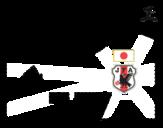 Desenho de Camisa da copa do mundo de futebol 2014 do Japão para colorear