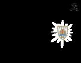 Desenho de Camisa da copa do mundo de futebol 2014 do Uruguai para colorear