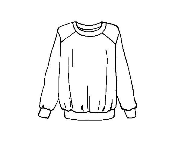 Desenho de Camisola luz para Colorir