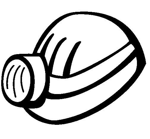 Desenho de Capecete mineiro para Colorir