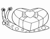 Desenho de Caracol 2 para colorear