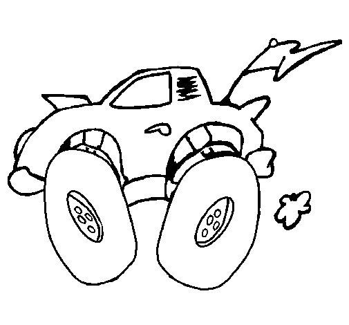 Desenho de Carro 2 para Colorir