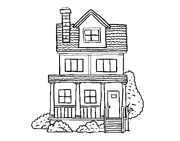 piso para colorear desenho de casa de dois andares com s t o para colorir