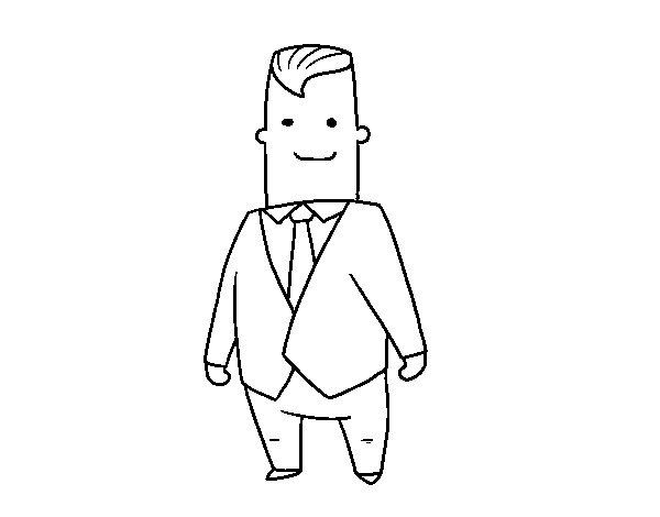 Desenho de CEO para Colorir