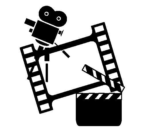 Desenho de Cine para Colorir