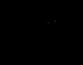 Desenho de Coelho astronauta para colorear